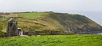 KINSALE (Cork) (IERLAND) - Old Head Golfcourse op de rotsen. COPYRIGHT KOEN SUYK