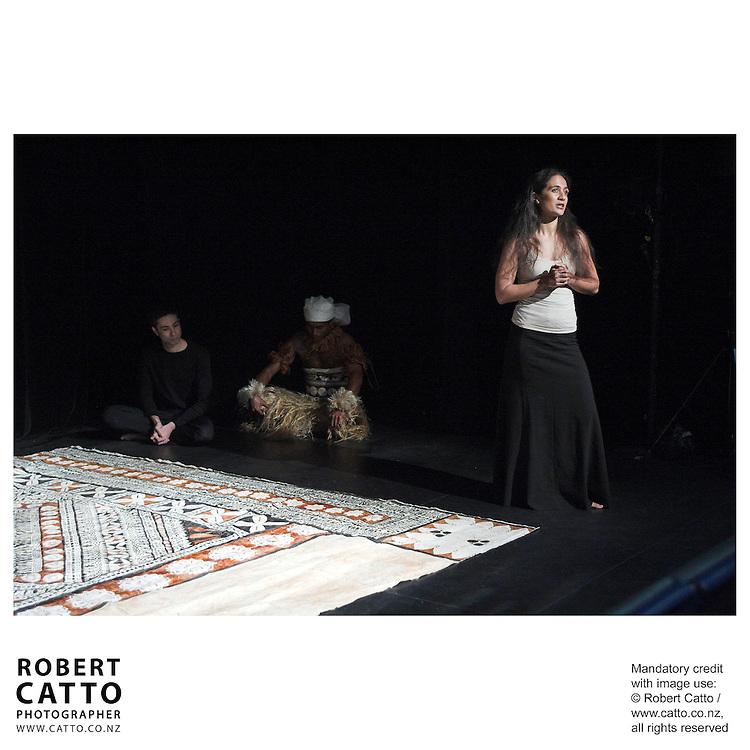 Letila Mitchell at the New Zealand International Arts Festival Show & Tell at the Capital E, Wellington, New Zealand.<br />