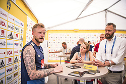 July 1, 2018 - Gelendszik, Russia - John Guidetti Mixad zonen VM Ryssland 2018 i Gelendszik.   (Credit Image: © WixtrÖM Peter/Aftonbladet/IBL via ZUMA Wire)