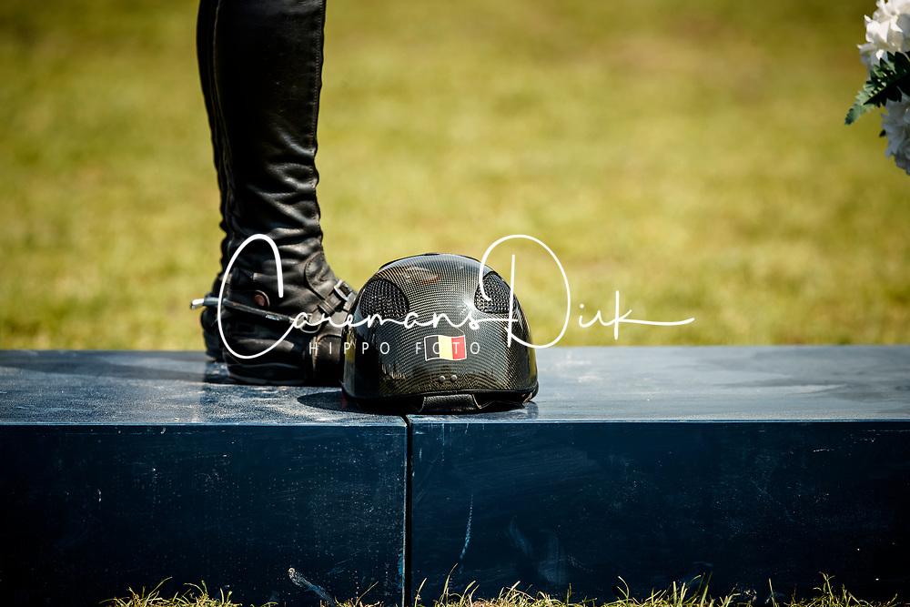 Morssinkhof Simon, BEL, Vivolta de Gree<br /> European Championship Children, Juniors, Young Riders - Fontainebleau 1028<br /> © Hippo Foto - Monique de Smit<br /> Morssinkhof Simon, BEL, Vivolta de Gree