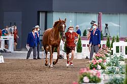 Balsiger Bryan, SUI, Twenty Two Des Biches, 381<br /> Olympic Games Tokyo 2021<br /> © Hippo Foto - Dirk Caremans<br /> 31/07/2021