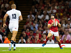 Leigh Halfpenny of Wales<br /> <br /> Photographer Simon King/Replay Images<br /> <br /> Friendly - Wales v England - Saturday 17th August 2019 - Principality Stadium - Cardiff<br /> <br /> World Copyright © Replay Images . All rights reserved. info@replayimages.co.uk - http://replayimages.co.uk