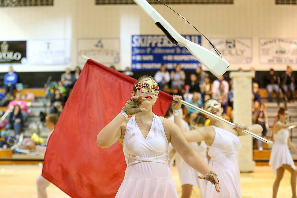 """Mandeville High School 2013 winterguard performing their show """"Love at the Masquerade"""" at the LCGPC winterguard show hosted by Mandeville High School. <br /> photos by: Crystal LoGiudice Photography<br /> 2032 Jefferson Street<br /> Mandeville, LA 70448<br /> www.clphotosonline.com<br /> crystallog@gmail.com<br /> 985-377-5086"""