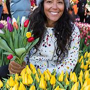 NLD/Amsterdam/20190119 - Nationale Tulpendag 2019, doop tulp Quinty Trustfull, Moise Trustfull