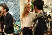 INDIA HICKS; YURI BASSI, Jonathan Adler Store opening. Sloane St. London. 16 November 2011. <br /> <br />  , -DO NOT ARCHIVE-© Copyright Photograph by Dafydd Jones. 248 Clapham Rd. London SW9 0PZ. Tel 0207 820 0771. www.dafjones.com.
