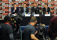 Football - 2016 / 2017 season - new England manager Gareth Southgate, first press conference<br /> <br /> England manager Gareth Southgate and Chief executive Martin Glenn and Technical Director Dan Ashworth speak to the press, at Wembley.<br /> <br /> COLORSPORT/ANDREW COWIE