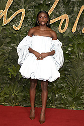 The British Fashion Awards 2018 at the Royal Albert Hall in London, UK. 10 Dec 2018 Pictured: Dina Asher-Smith. Photo credit: Fred Duval/MEGA TheMegaAgency.com +1 888 505 6342