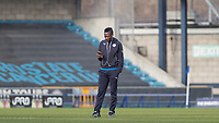 Football - 2016 / 2017 FA Cup - Fifth Round: Millwall vs. Leicester City <br /> <br /> Ahmed Musa of Leicester City stands alone as he checks out the pitch and stadium at The Den<br /> <br /> COLORSPORT/DANIEL BEARHAM