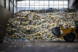 THEMENBILD - Plastikmüll in einer Kunststoffsortieranlage am 21. Juni 2018 in Graz // THEMES PICTURE - Plastic waste in a waste collection point in Graz, Austria, on 21 June 2018. EXPA Pictures © 2018, PhotoCredit: EXPA/ Erwin Scheriau