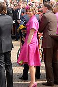 Koninginnedag 2008 / Queensday 2008. <br /> <br /> Koningin Beatrix viert Koninginnedag dit jaar in Friesland. De vorstin en haar familie bezochten op 30 april Makkum en Franeker.<br /> <br /> Queen Beatrix celebrates Queensday this year in Friesland (the Nothren provice in Holland). The Queen and its family visited Makkum and Franeker on 30 April.<br /> <br /> Op de foto/ On the Photo: Princes Laurentien