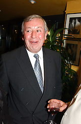 Restaurateur RICHARD SHEPHERD at a pre-screening party of a film by Fiona Sanderson entitled 'The Hunt For Lord Lucan' held at Langans, 254 Old Brompton Road, London SW7 on 8th November 2004.<br /><br />NON EXCLUSIVE - WORLD RIGHTS