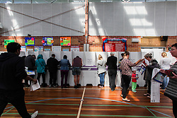© Licensed to London News Pictures. 7/9/2013. Australian voters at the polls in the electorate of Ashton during the Australian Federal Election. Photo credit : Asanka Brendon Ratnayake/LNP
