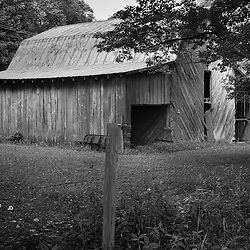 The larger the barn the more land that has to be farmed.