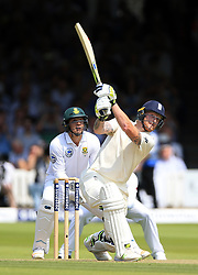 England's Ben Stokes bats during day one of the First Investec Test match at Lord's, London. PRESS ASSOCIATION Photo. Picture date: Thursday July 6, 2017. See PA story CRICKET England. Photo credit should read: Nigel French/PA Wire. RESTRICTIONS: Editorial use only. No commercial use without prior written consent of the ECB. Still image use only. No moving images to emulate broadcast. No removing or obscuring of sponsor logos.