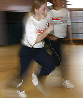 Photo: Rich Eaton.<br /> <br /> SPAR Sprint Masterclass in Birmingham. 18/01/2007. Martyn Rooney gives a Spar Masterclass in Birmingham