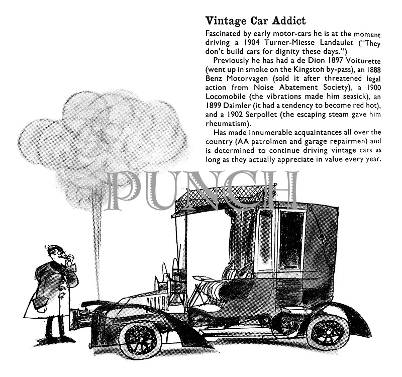 Prestige Motoring. For those who wish to avoid the conformity of running a Rolls. Vintage Car Addict.