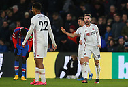 Sheffield United's Oliver Norwood celebrates at the end of the Premier League match at Selhurst Park, London. Picture date: 1st February 2020. Picture credit should read: Paul Terry/Sportimage