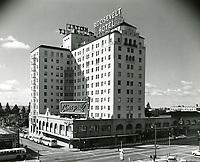 1957 Hollywood Roosevelt Hotel