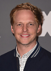 BEVERLY HILLS, CA - AUGUST 9:   Chris Geere at the FX 2017 Television Critics Association Summer Tour Star Walk at The Beverly Hilton Hotel on Tuesday, August 9, 2017 in Beverly Hills, CA. (Photo by Scott Kirkland/Fox/PictureGroup) *** Please Use Credit from Credit Field ***