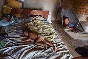 Home interior in the Wapishan indigenous community of Katoonarib (South Rupununi, Guyana).