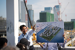September 5, 2018 - Tokyo, JAPAN - 180905 The Olympic Village and Paralympic Village is being presented during the first World Press Briefing for the 2020 Olympic Games on September 5, 2018 in Tokyo..Photo: Joel Marklund / BILDBYRN / kod JM / 87776 (Credit Image: © Joel Marklund/Bildbyran via ZUMA Press)