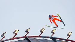 01.03.2017, Lahti, FIN, FIS Weltmeisterschaften Ski Nordisch, Lahti 2017, Nordische Kombination, Skisprung, Grossschanze HS130 m, im Bild Je-Un Park (KOR) // Je-Un Park of Republic of Korea during Skijumping competition of Nordic Combined of FIS Nordic Ski World Championships 2017. Lahti, Finland on 2017/03/01. EXPA Pictures © 2017, PhotoCredit: EXPA/ JFK