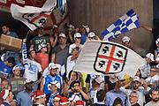 DESCRIZIONE : Reggio Emilia Lega A 2014-15 Grissin Bon Reggio Emilia - Banco di Sardegna Dinamo Sassari playoff Finale gara 5 <br /> GIOCATORE : Tifosi Banco di Sardegna Sassari<br /> CATEGORIA : Tiosi Low<br /> SQUADRA : Banco di Sardegna Sassari<br /> EVENTO : LegaBasket Serie A Beko 2014/2015<br /> GARA : Grissin Bon Reggio Emilia - Banco di Sardegna Dinamo Sassari playoff Finale  gara 1<br /> DATA : 22/06/2015 <br /> SPORT : Pallacanestro <br /> AUTORE : Agenzia Ciamillo-Castoria / Richard Morgano<br /> Galleria : Lega Basket A 2014-2015 Fotonotizia : Reggio Emilia Lega A 2014-15 Grissin Bon Reggio Emilia - Banco di Sardegna Dinamo Sassari playoff Finale  gara 5<br /> Predefinita :