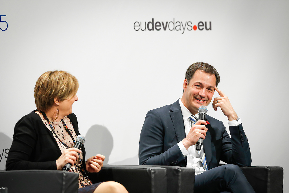 04 June 2015 - Belgium - Brussels - European Development Days - EDD - Education - Right to quality education - Alexander De Croo , Deputy Prime Minister , Minister of Development Cooperation , Digital Agenda , Telecom and Postal Services , Belgium © European Union