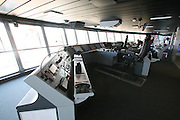 Royal Caribbean International's  Independence of the Seas, the world's largest cruise ship...Onboard feature pictures...The bridge.