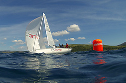 The Clyde Cruising Club's Scottish Series held on Loch Fyne by Tarbert. Day 2 racing in a perfect southerly..GBR 3111, DDZ B/one,  Luke Patience, RNCYC