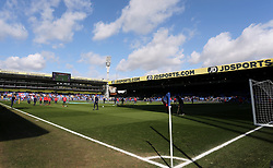 General view of the ground before the game