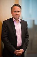 DEU, Deutschland, Germany, Berlin, 18.02.2019: Portrait von Prof. Dr. Andreas Peichl, Leiter des ifo Zentrums für Makroökonomik und Befragungen.