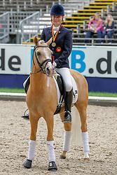 , DKB - Bundeschampionate Warendorf 31. - 04.09.2011, Cyrill  WE - Krause, Nadine