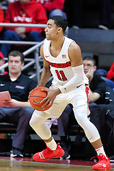 NORMAL, IL - January 05: Josh Jefferson during a college basketball game between the ISU Redbirds and the University of Evansville Purple Aces on January 05 2019 at Redbird Arena in Normal, IL. (Photo by Alan Look)