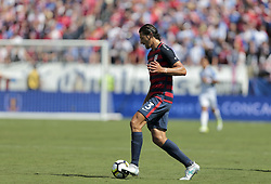 July 8, 2017 - Nashville, TN, USA - Nashville, TN - Saturday July 08, 2017:  Omar Gonzalez during a 2017 Gold Cup match between the men's national teams of the United States (USA) and Panama (PAN) at Nissan Stadium. (Credit Image: © John Dorton/ISIPhotos via ZUMA Wire)