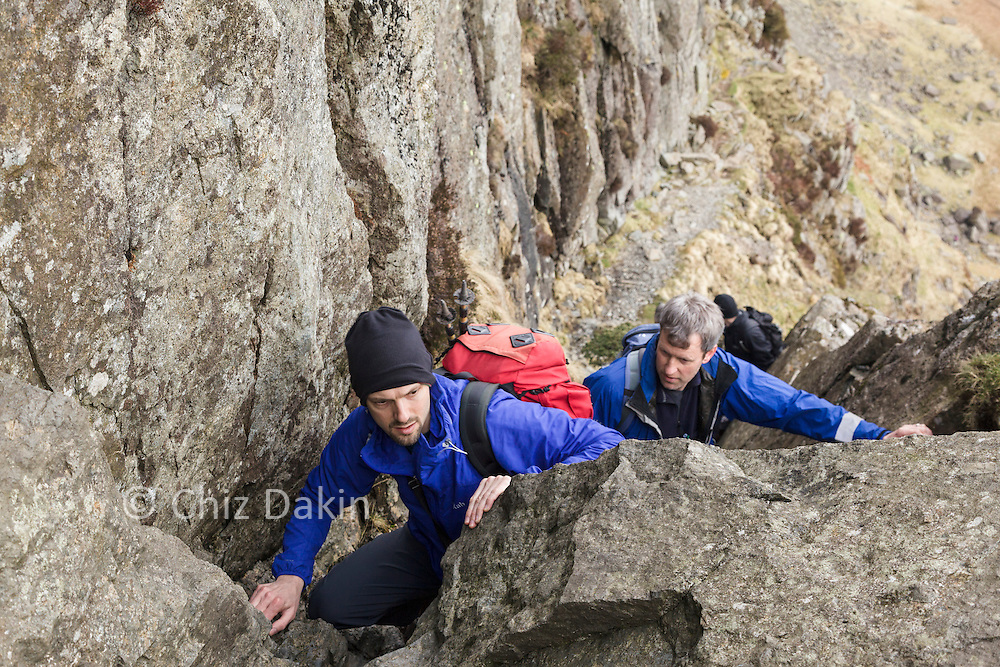Emerging from one of the more difficult sections of Jacks Rake