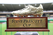 The Steve Prescott Cup prior to the Betfred Super League match between Hull FC and St Helens RFC at Kingston Communications Stadium, Hull, United Kingdom on 16 February 2020.