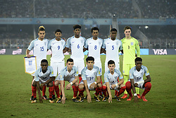 October 28, 2017 - Kolkata, West Bengal, India - England football team poses for team picture during the FIFA U 17 World Cup India 2017 Final match in Kolkata. Player of England and Spain in action during the FIFA U 17 World Cup India 2017Final match on October 28, 2017 in Kolkata. England wins FIFA U 17 World Cup 5 - 2 goals against Spain. (Credit Image: © Saikat Paul/Pacific Press via ZUMA Wire)