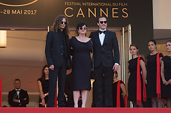 Joaquin Phoenix and director Lynne Ramsay attending the Closing Ceremony during the 70th annual Cannes Film Festival held at the Palais Des Festivals in Cannes, France on May 28, 2017 as part of the 70th Cannes Film Festival. Photo by Nicolas Genin/ABACAPRESS.COM