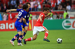 Rene Aufhauser of Austria during the UEFA EURO 2008 Group B soccer match between Austria and Croatia at Ernst-Happel Stadium, on June 8,2008, in Vienna, Austria.  (Photo by Vid Ponikvar / Sportal Images)