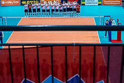 Team Croatia during the CEV Eurovolley 2021 Qualifiers between Croatia and Netherlands at Topsporthall Omnisport on May 16, 2021 in Apeldoorn, Netherlands