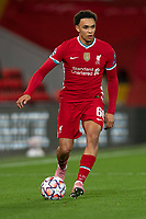 Football - 2020 / 2021 Champions League - Group D - Liverpool vs FC Midtjylland - Anfield<br /> <br /> Liverpool's Trent Alexander-Arnold in action during todays match  <br /> <br /> COLORSPORT/TERRY DONNELLY