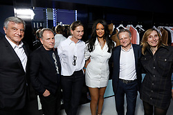 Handout - Chief Strategy Officer of LVMH and FENTY CEO, Jean-Baptiste Voisin, Sidney Toledano attend Fenty Launch on May 22, 2019 in Paris, France. Photo by Julien Hekimian for Fenty via ABACAPRESS.COM