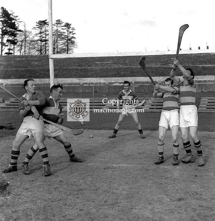 Kerry hurlers in training in the 1950's..Photo by Harry MacMonagle..from the MacMonagle, Killarney photo archive.www.macmonagle.com