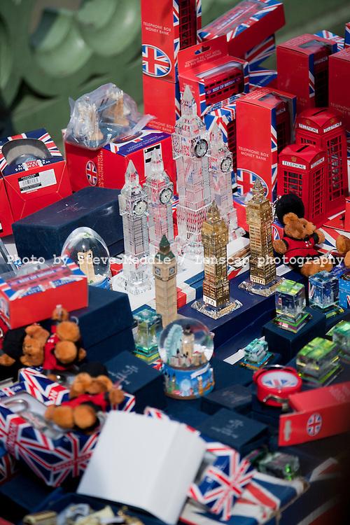London Souvenir Street Trader, Westminster Bridge, London, Britain - 2010.