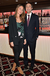 BEN GOLDSMITH and JEMIMA JONES at the Pig Pledge Evening at Club no41, 41 Conduit Street, London on 10th March 2014.