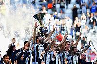 Festa finale<br /> Esultanza Juventus Campione d'Italia . Celebration Juventus Italian championship winner <br /> Torino 21-05-2017 Juventus Stadium Football Calcio Serie A 2016/2017 Juventus - Crotone .<br /> Foto Insidefoto