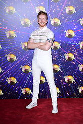 Neil Jones arriving at the red carpet launch of Strictly Come Dancing 2019, held at BBC TV Centre in London, UK.