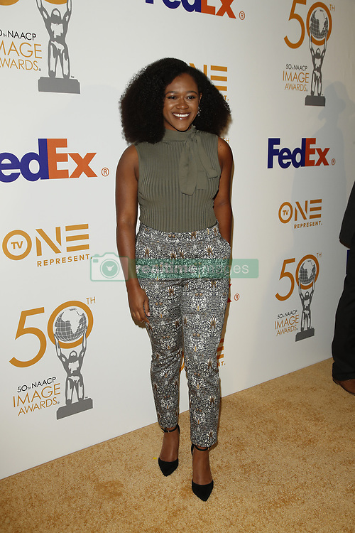 March 9, 2019 - Los Angeles, CA, USA - LOS ANGELES - MAR 9:  Daisy Lightfoot at the 50th NAACP Image Awards Nominees Luncheon at the Loews Hollywood Hotel on March 9, 2019 in Los Angeles, CA (Credit Image: © Kay Blake/ZUMA Wire)