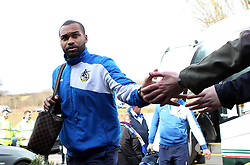 Jermaine Easter of Bristol Rovers arrives for the game at Wycombe Wanderers - Mandatory byline: Robbie Stephenson/JMP - 27/02/2016 - FOOTBALL - Adams Park - Wycombe, England - Wycombe Wanderers v Bristol Rovers - Sky Bet League Two